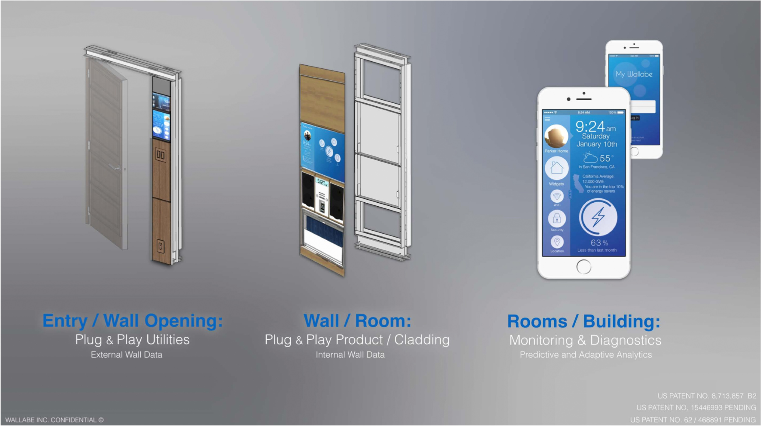 mitchell posada smart wall building product wallabe